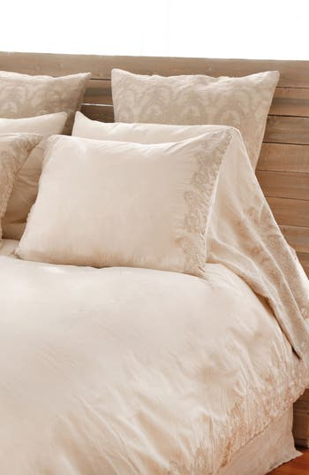 Pom Pom At Home Grace Set Of 2 Pillowcases, Size King - Beige