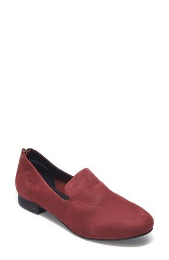 Adam Tucker Marina Zip Loafer- Red