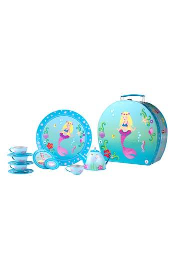 Girls Pink Poppy Mermaid Tea Set