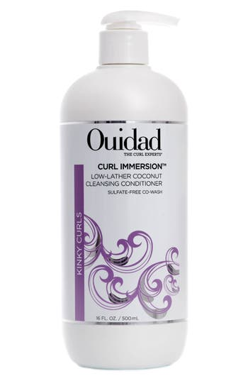 Ouidad Curl Immersion™ Low Lather Coconut Cleansing Conditioner, Size