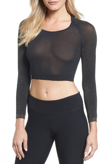 Spanx Arm Tights(TM) Shimmer Layering Top, Metallic