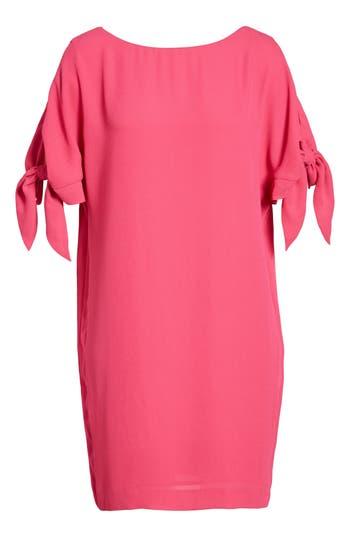 Vince Camuto Cold Shoulder Shift Dress, Pink