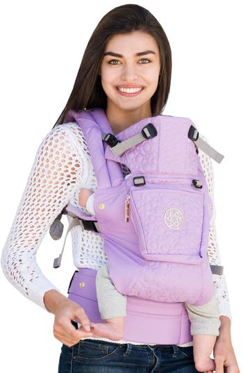 Infant Lillebaby Complete Embossed Luxe Baby Carrier Size One Size  Purple