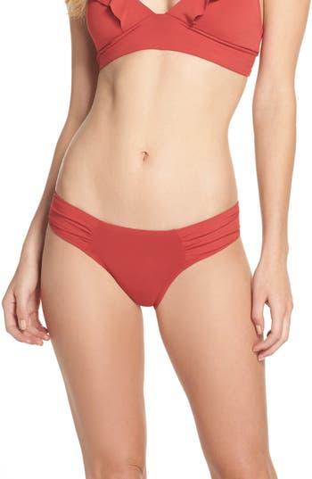 Robin Piccone Ava Bikini Bottoms, Red