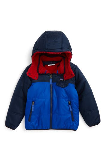 Toddler Boy's Patagonia 'Tribbles' Reversible Water Resistant Snow Jacket(Toddler Boys & Little Boys)