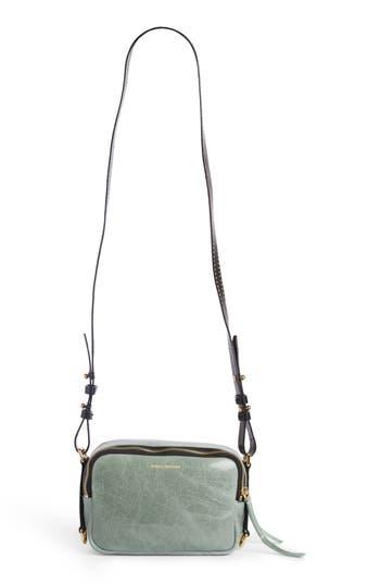 Isabel Marant Tinley Studded Leather Bag - Green at NORDSTROM.com