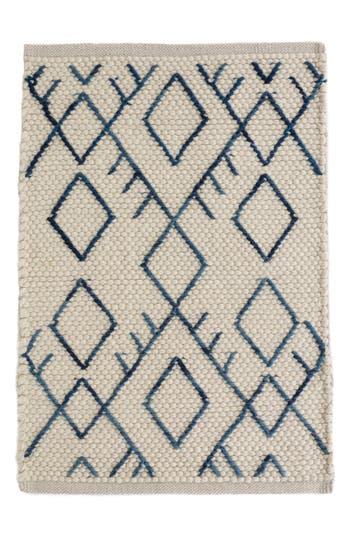 Dash & Albert Teca Woven Rug, Size Swatch - Ivory