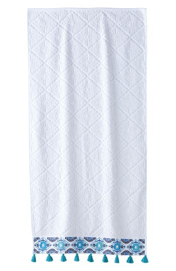 John Robshaw Aloka Bath Towel, Size One Size - Blue