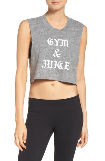Private Party Gym & Juice Crop Tank