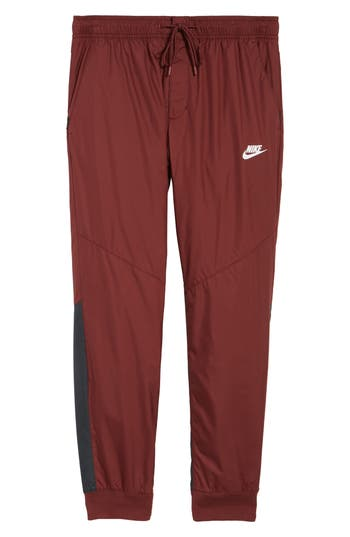Nike Windrunner Training Pants, Burgundy
