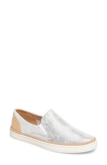 Ugg Adley Stardust Slip-On Sneaker, Metallic