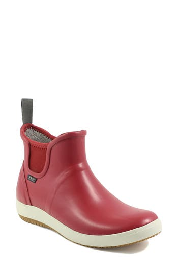Bogs Quinn Rain Bootie, Red