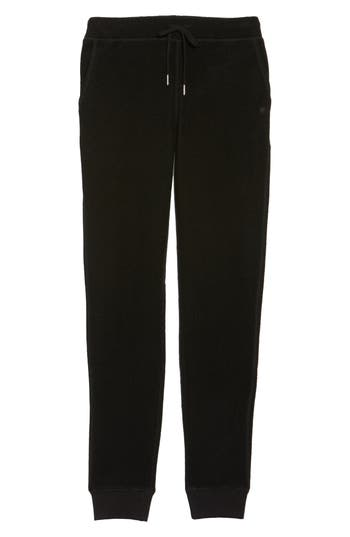 Ugg Merino Wool Jogger Pants, Black