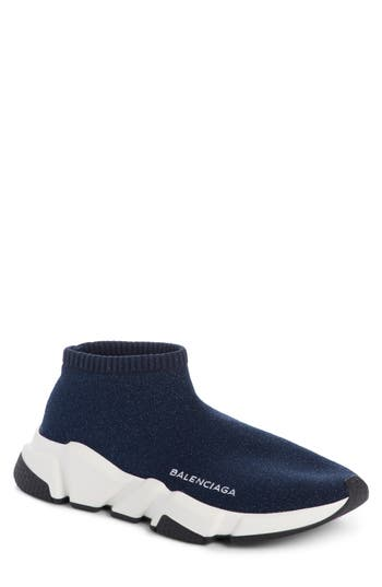 Balenciaga Low Speed Sneaker, Blue