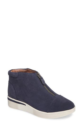 Gentle Souls Hazel Fay High Top Sneaker, Blue