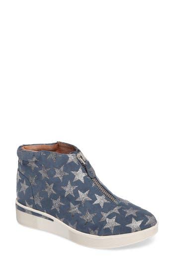 Gentle Souls Hazel Fay High Top Sneaker- Blue