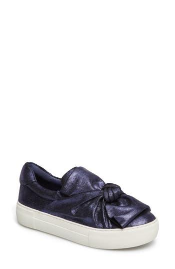 Jslides Audra Slip-On Sneaker, Blue