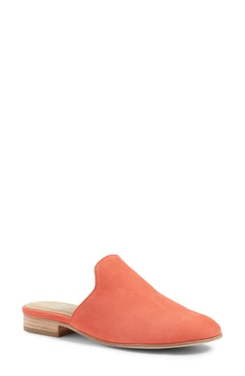 Women's Eileen Fisher Dion Mule, Size 5 M - Coral
