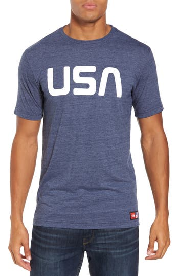 The North Face International Collection Triblend T-Shirt, Blue