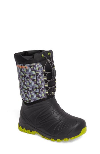 Boys Merrell Snow Quest Lite Waterproof Boot