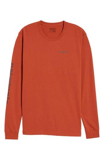 Patagonia Long Sleeve Logo T-Shirt, Red