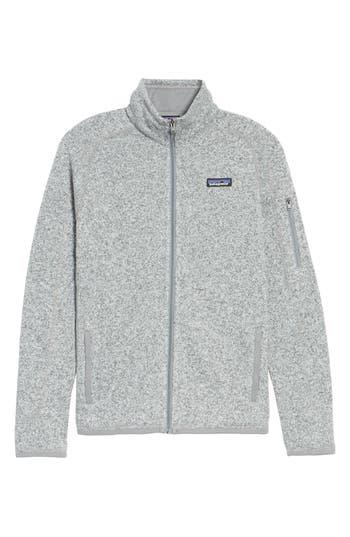 Women's Patagonia 'Better Sweater' Jacket, Size Medium - White -  25542-BCW-M