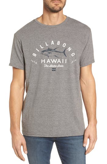 Billabong Tuner Hi Graphic T-Shirt, Grey