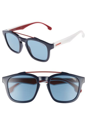 Carrera Eyewear 1011S Sunglasses - Blue/ Blue Avio
