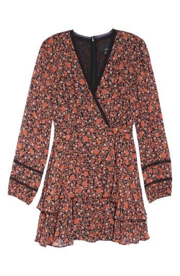 Greylin Haylie Fit & Flare Dress, Red
