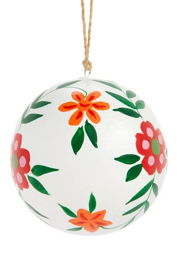 Nordstrom At Home Global Folk Ball Ornament