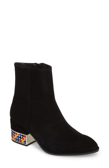 Jeffrey Campbell Oasis Statement Heel Bootie, Black