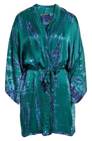 Women's Stone Row X Georgia May Jagger Tie Dye Kimono, Size One Size - Green