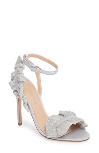 Tony Bianco Katy Ruffle Sandal, Metallic