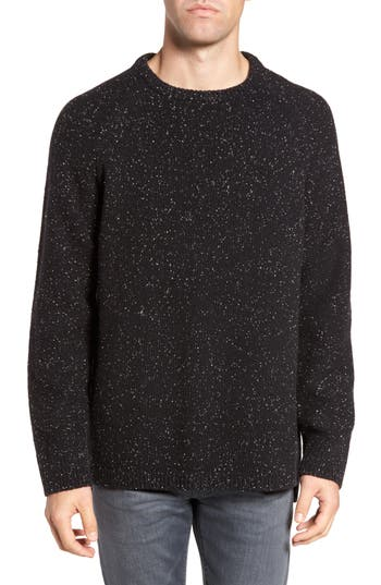 French Connection Donegal Lambswool Blend Sweater, Black