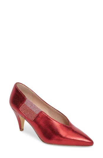 Free People Florence Pump, Red