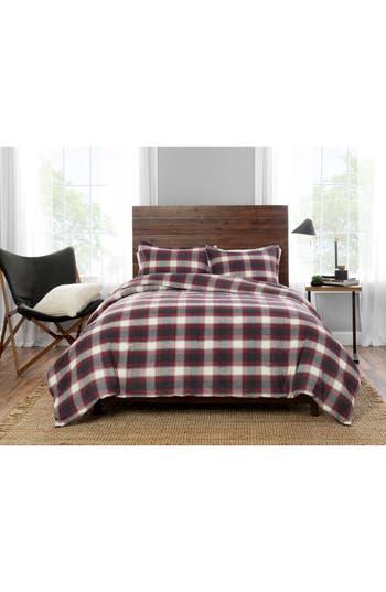 Pendleton Fern Ridge Comforter & Sham Set, Size Twin - Grey