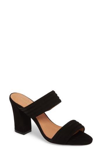 Women's Halogen Della Slide Sandal, Size 5 M - Black
