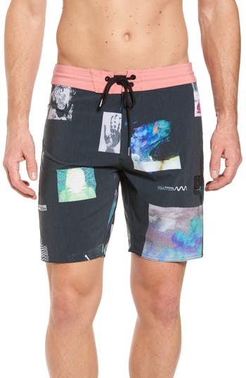 Volcom Oblivion Stoney Board Shorts, Black