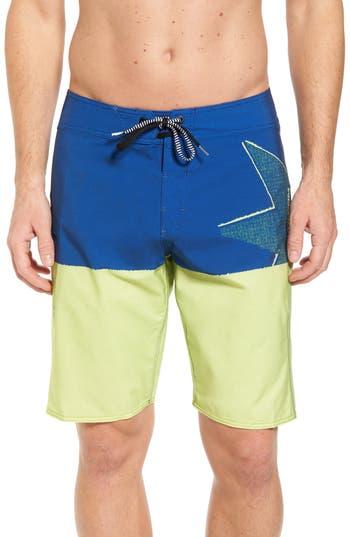 Volcom Lido Block Mod Board Shorts, Green