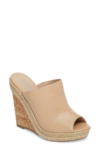 Charles By Charles David Balen Wedge, Beige