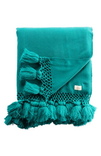 Kate Spade New York Seaport Throw, Size One Size - Blue/green