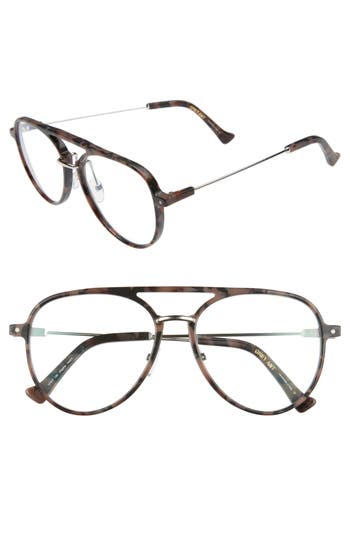 Grey Ant Praph 57Mm Optical Glasses - Rose Tortoise/ Optical