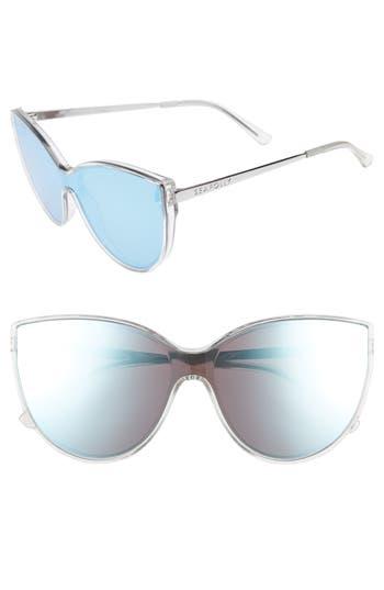 Women's Seafolly Tortola 60Mm Cat Eye Sunglasses - Clear