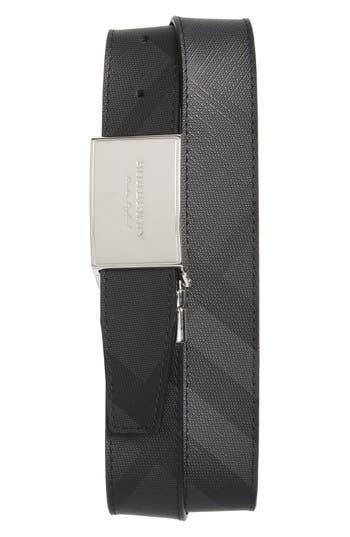 Burberry Check George Reversible Belt