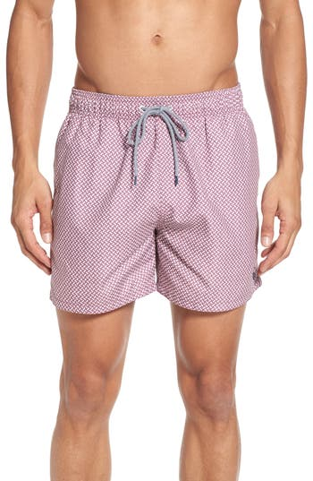 Ted Baker London Preston Swim Shorts, (m) - Pink