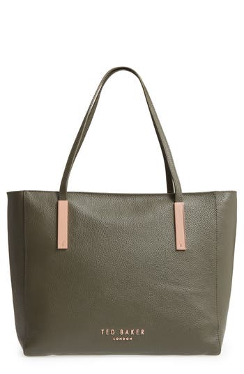 Ted Baker London Sarahh Leather Shopper - Green