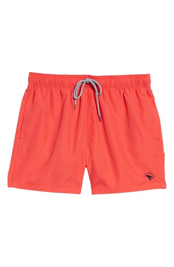 Ted Baker London Danbury Swim Shorts, Red