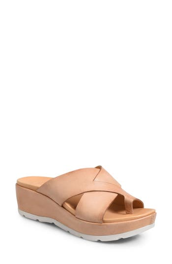 Kork-Ease Baja Wedge Sandal, Brown