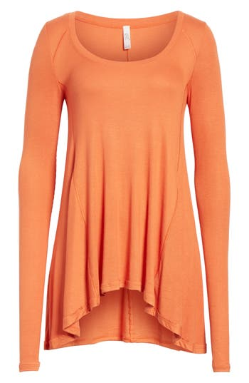 Women's Free People January Tee, Size X-Small - Orange
