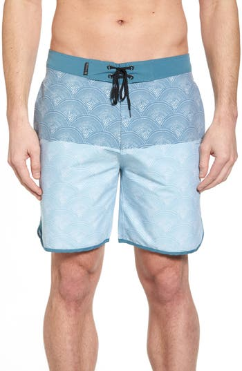 Hurley Beachside Pescado Boardshorts, Blue